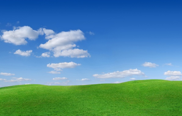 Picture the sky, grass, clouds, nature, photo, hills, landscapes, the slopes, Bugry