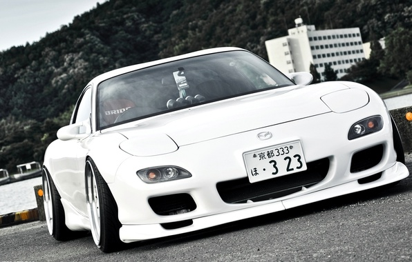 Picture Japan, Machine, Tuning, Mazda, White, Japan, Mazda, Car, Car, White, Wallpapers, Tuning, Beautiful, JDM, Wallpaper, …