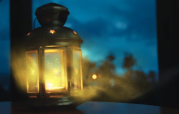 Picture macro, light, circles, night, magic, patterns, lantern, light, magic, night, circles, patterns, macro, bokeh, bokeh, …