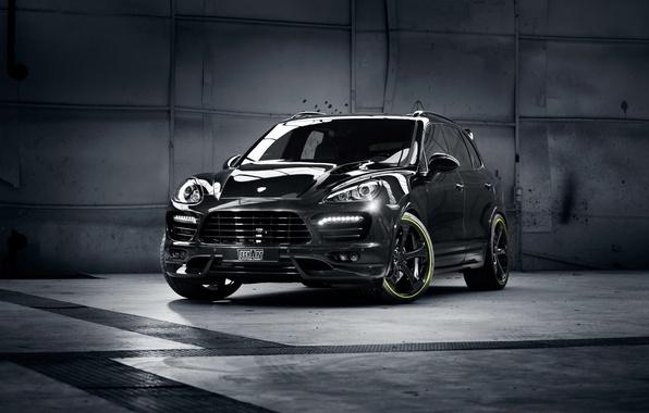 Picture car, tuning, jeep, SUV, Porsche Cayenne, Porsche, Cayenne, TechArt