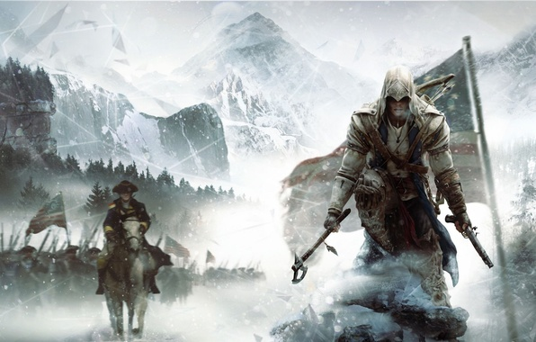 Picture the game, Ubisoft, action, Assassins Creed 3, Assassin's Creed 3