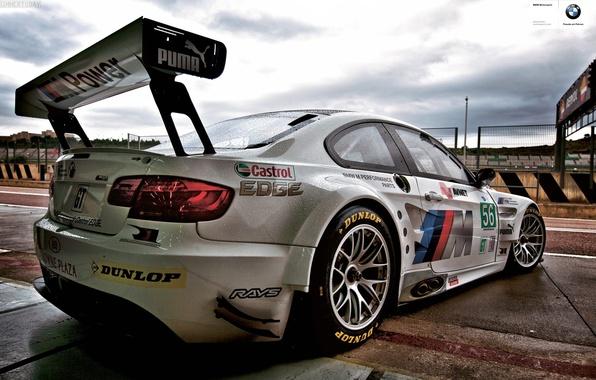 Picture rain, bmw, dtm, bmw m3 gt2, Speedway