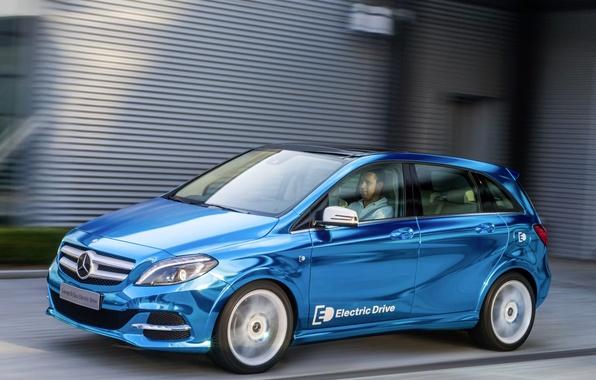 Picture Mercedes Benz, B-class, Electric Drive