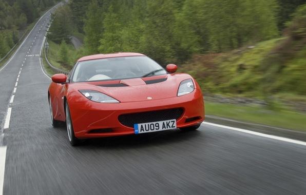 Picture road, machine, rain, road, Lotus, lotus, evora, rains