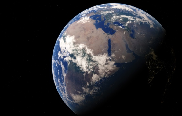 Picture planet, Earth, Africa, the continent