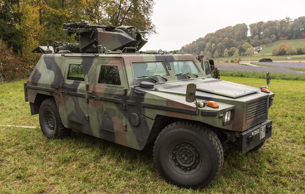 Picture armored car, Swiss, four-wheel drive, the SUV, Mowag Eagle III