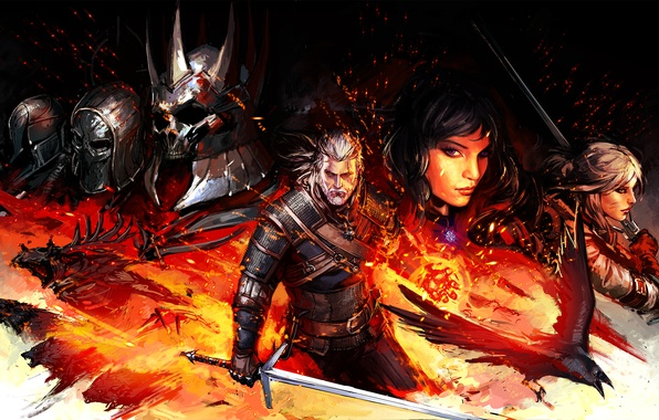 Picture witcher, geralt, The Witcher 3: Wild Hunt, Geralt of Rivia, The Witcher 3: Wild Hunt, …