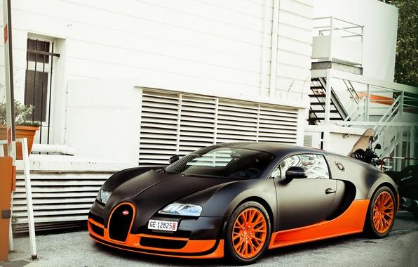 wallpaper veyron bugatti supercar supercar supersport building veyron bugatti supersport. Black Bedroom Furniture Sets. Home Design Ideas
