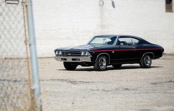 Picture 1969, muscle car, Chevrolet Chevelle, L78, Hardtop Coupe