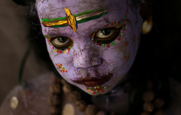 Picture Colors, Portrait, India
