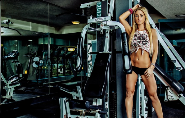 Picture legs, model, look, blonde, pose, fitness, abs