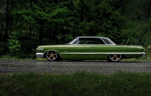 Picture Chevrolet, Impala, low rider