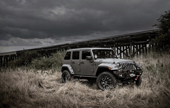 Picture jeep, jeep, wrangler, Wrangler, unlimited, NightHawk
