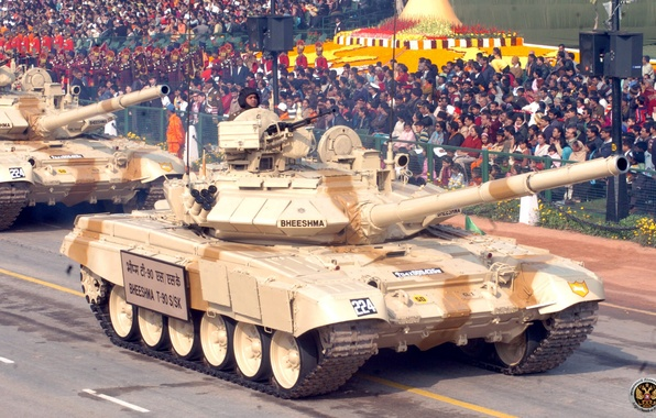 Picture Tank, T-90, VS India