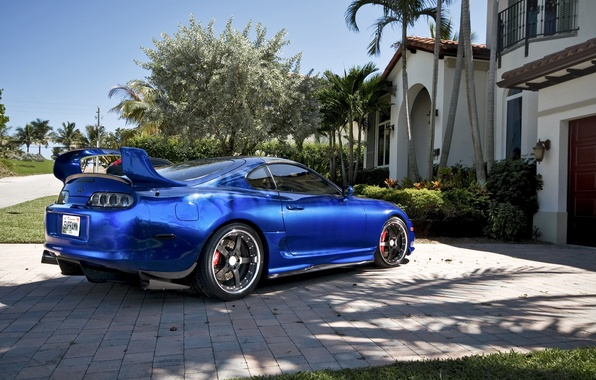 Picture the city, home, City, Toyota, cars, auto, Supra, wallper, Photo, Toyota Supra, wallpapers auto, tuning …