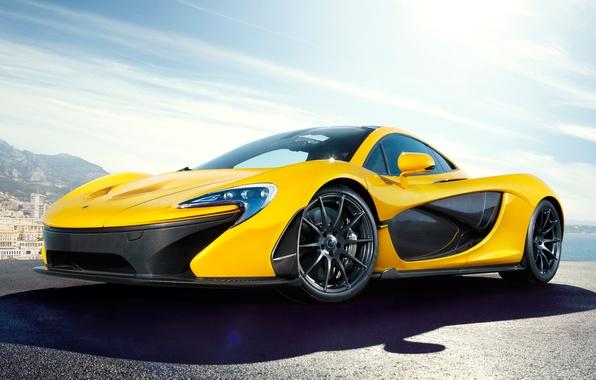 Picture McLaren, the concept, yellow, McLaren, McLaren P1