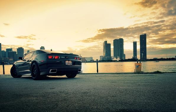 Picture the city, City, camaro, chevrolet, cars, auto
