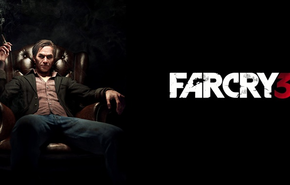 Picture smoke, chair, cigarette, villain, game, boss, Far cry, Hoyt Volker