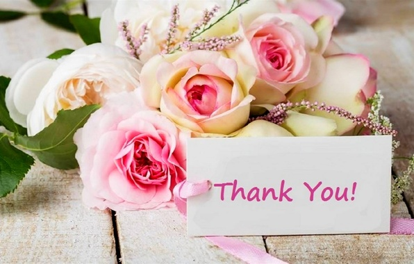 Image result for thank you roses images