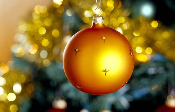 Picture yellow, ball, stars