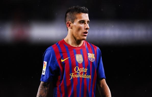Picture football, club, form, player, football, player, FC Barcelona, FC Barcelona, Cristian Tello, Tello, Tello, Christian …