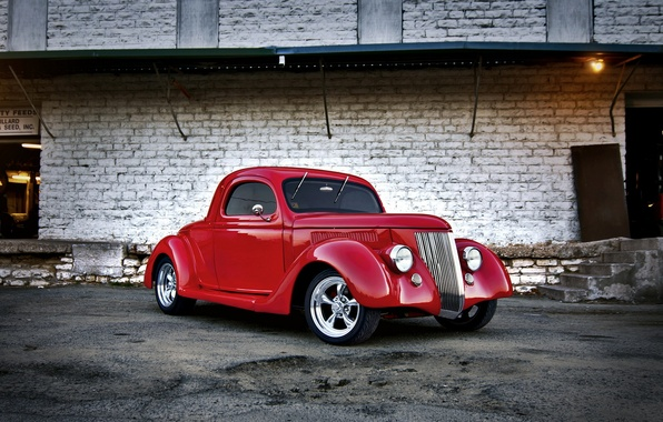 Picture machine, background, ford, hot rod, 1936