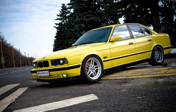 Picture BMW, E34, 5, BMW5