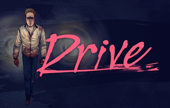 Picture drive, drive, drive 2011, movie Ryan Gosling