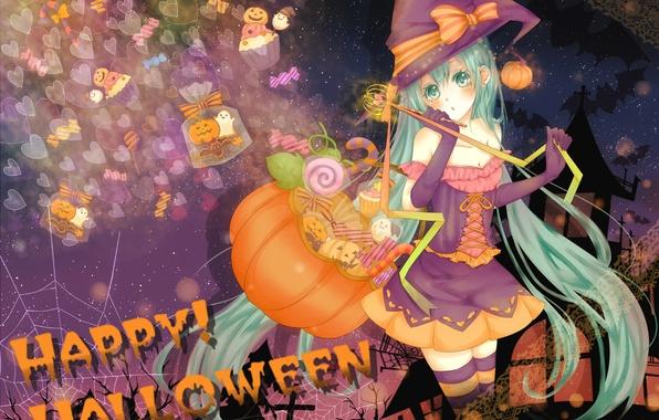 Picture girl, holiday, vocaloid, halloween, miku, hatsune