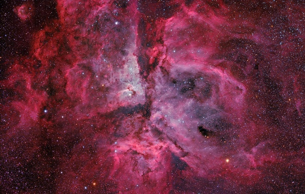 Picture space, nebula, space, stars, constellation, NGC 3372, the universe, Keel