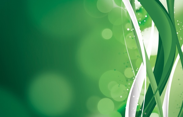 Picture circles, green background, Free
