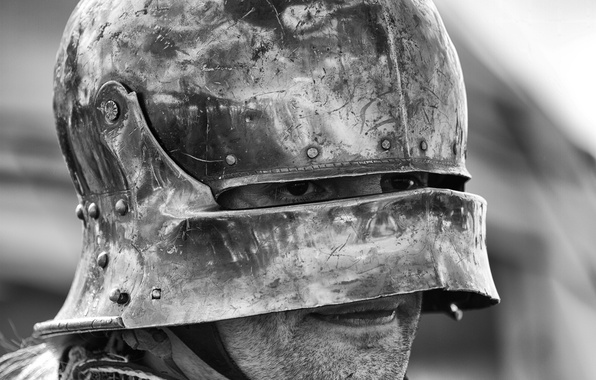 Picture armor, warrior, helmet, male