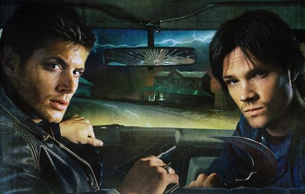 Picture the series, Supernatural, Supernatural, Dean Winchester, Sam, Jared Padalecki, Jensen Ackles
