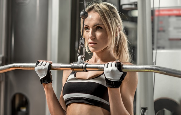 Picture model, workout, fitness, gym, sportswear