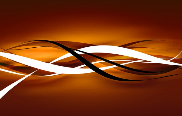 Picture line, orange, abstraction