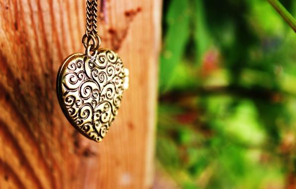 Picture heart, pendant, decoration