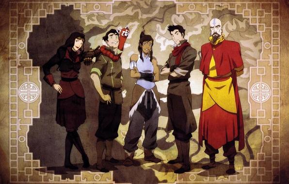 Picture map, avatar, avatar, friends, Mako, Korra, Times, The Legend of Korra, Avatar: the Legend of …