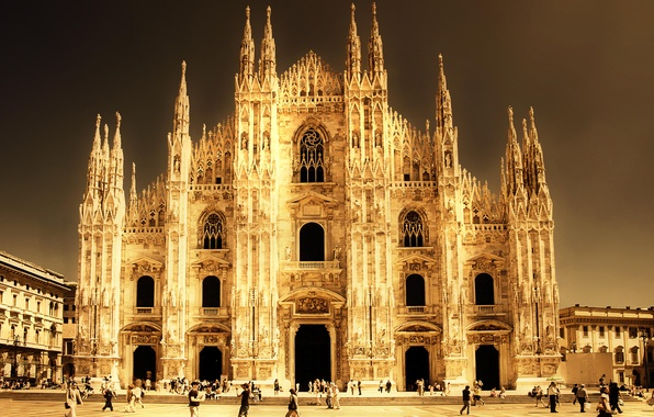 Picture Italy, Cathedral, Italy, Milano, Milan