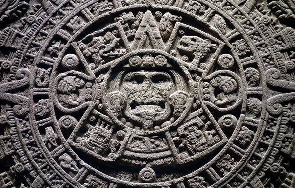 Picture round, the Aztecs, calendar, Shem