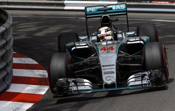 Picture formula 1, Mercedes, the car, Mercedes, Formula 1, AMG, Hybrid, 2015, W06