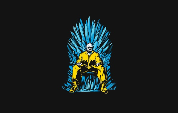 Picture pose, the throne, Breaking Bad, Walter White, Game Of Thrones, Heisenberg