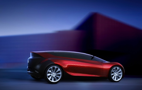 Picture Concept, red, sport, speed, Mazda, Ryuga