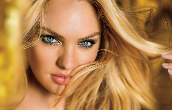 Picture look, girl, face, sexy, background, model, hair, blonde, lips, sexy, beauty, Victoria's Secret Angels, Candice …