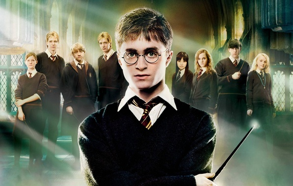 Picture Emma Watson, Daniel Radcliffe, Rupert Grint, Harry Potter and the order of the Phoenix, Zhou …