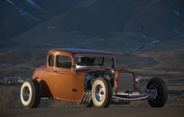 Picture car, auto, retro, Ford, Machine, Ford, Hot Rod, rarity, Hot rod