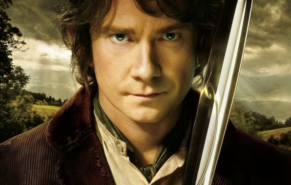 Picture sword, The Lord of the rings, The Lord of the Rings, Martin Freeman, The hobbit …