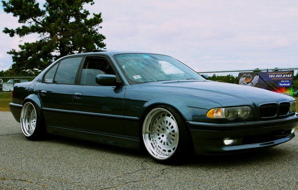 Picture tuning, drives, Boomer, seven, e38, bumer, bmw 740