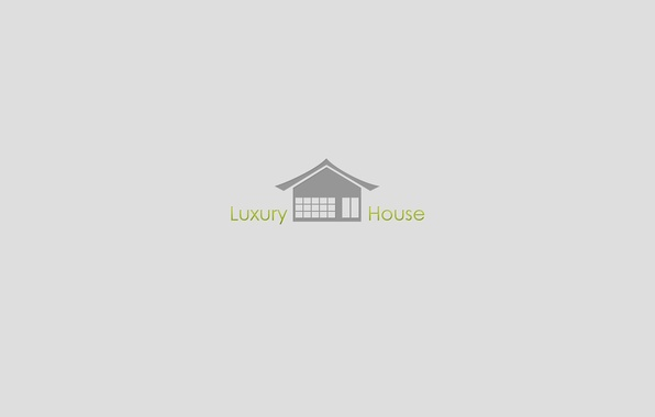 Photo wallpaper minimalism, texture, journal, Luxury House
