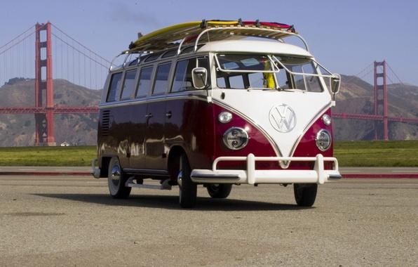 Picture Bridge, Volkswagen, Hippie