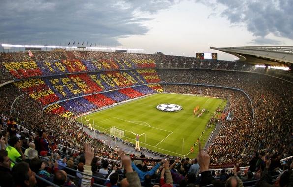 Picture Spain, stadium, Match, Champions League, Camp, Nou, semi-finals, Barcelona